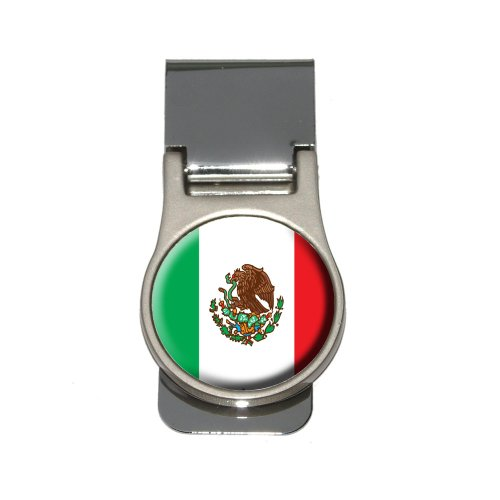 Mexico Clip - Mexico Mexican Flag Money Clip