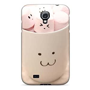 Excellent Hard Cell-phone Case For Samsung Galaxy S4 With Unique Design Nice Cute Marshmallow Series EricHowe