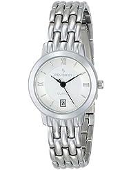 Peugeot Womens 144L Silver-Tone Bracelet Watch
