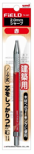 Uni Mechanical Pencil, Field, 2.0mm, Red Lead -