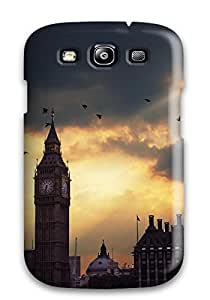 GUEYgEA14190FkzBy Case Cover Protector For Galaxy S3 Morning In London Case