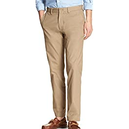 Banana Republic Men's Emerson-Fit Chino Pants Acorn