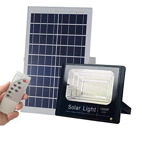 100w Solar Powered Street Flood Lights 196 Leds 5 000