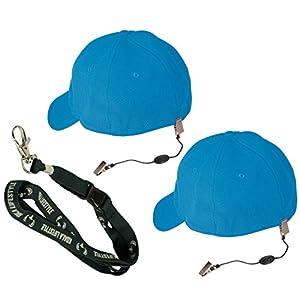 Chums Hat Lanyard, Keeper, Clip, Retainer, Strap, Keeper, Cord, Leash for Caps and Eyewear   2pk Bundle + Koala Lanyard