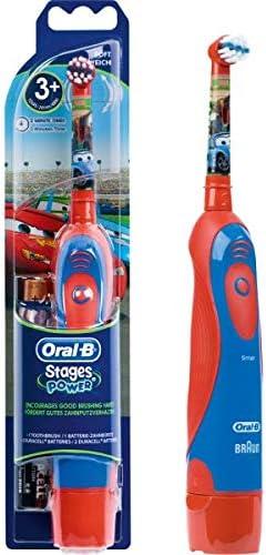 Oral-B Stages Power Batterie Cars elektrische Kinderzahnbürste