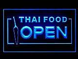 Thai Food Thailand Restaurant Cuisine Shop Led Light Sign