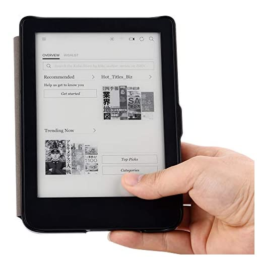 YuanZhu All-new Kindle 2019 Smart Cover,Folio Case For 2019 All-new Kindle with built-in front light