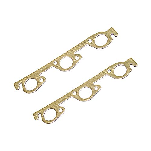 DNJ EG1135 Exhaust Manifold Gasket for 1990-2010 / Chrysler, Dodge, Plymouth, Volkswagen/Caravan, Concorde, Dynasty, Routan, Town & Country, Voyager / 3.3L, 3.8L / OHV/CGUA/VIN 1, VIN 3, VIN E,