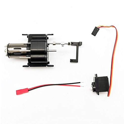 Leiyini Super-Powered All-Metal Gearbox, Car DIY Retrofit Upgrade Model Accessories for WPL JJRC MN 4WD 6WD RC Can Pull 10-30KG ()