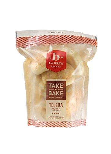 La Brea Bakery Take & Bake Telera Slider Roll, 1 oz (Frozen) (Fresh Baked Bread)