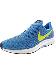Nike Air Zoom Pegasus 35 Men's Running Shoe has been re-imagined to look as fast as it feels. A full-length Zoom Air unit and beveled heel work together for optimal responsiveness, while engineered mesh and Flywire cables lock you down for sp...