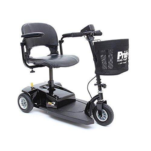 Pride Mobility Go-Go ES2 - Lightweight Travel Scooter - 3...