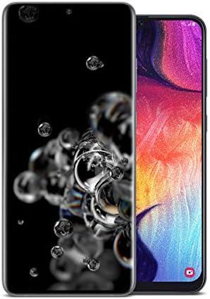 Samsung Galaxy S20 Ultra 5G, 128GB,Cosmic Gray with A50 64GB, Black