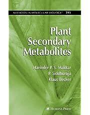 Plant Secondary Metabolites (Volume 393)
