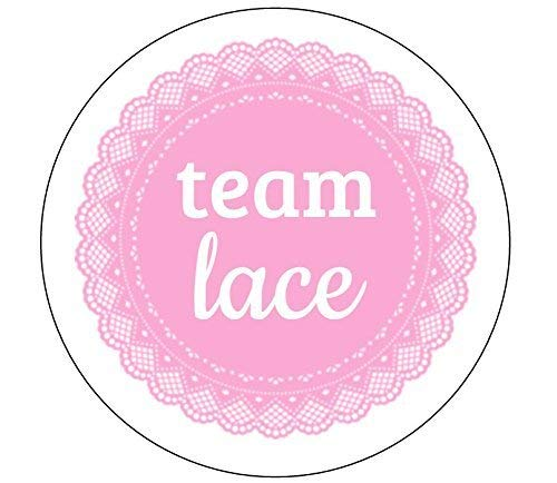 Team Lace Stickers - Set of 24