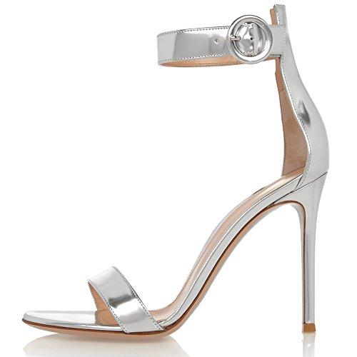 elashe - Correa para el tobillo Mujer plata