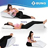 Leg Elevation Pillow with Cooling Gel - Memory Foam