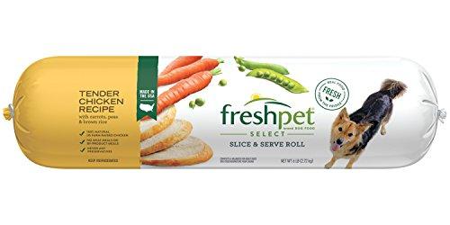 Freshpet Healthy & Natural Dog Food, Fresh Chicken Roll, 6lb