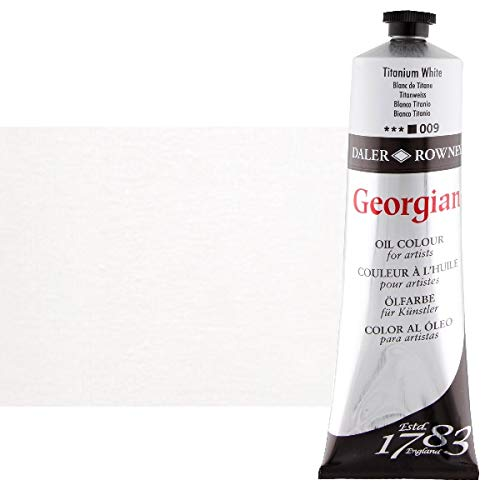 Daler-Rowney Georgian Oil Colours titanium white 225 ml
