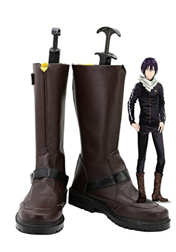 [Noragami ARAGOTO Yato Cosplay Shoes Boots Custom Made] (Yato Cosplay Costume)