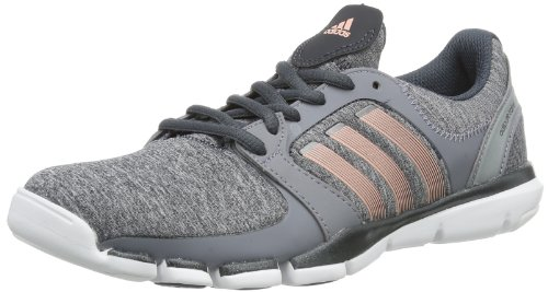 Adipure Indoor Womens 360 Gray Grey Coral Trainer Metallic Heather Shoes Glow Grau Carbon Dark adidas Iqt5AwHdI