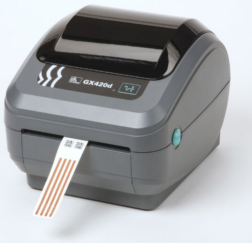 Zebra GK420d Direct Thermal Shipping Label Printer GX42-200410-000 ()