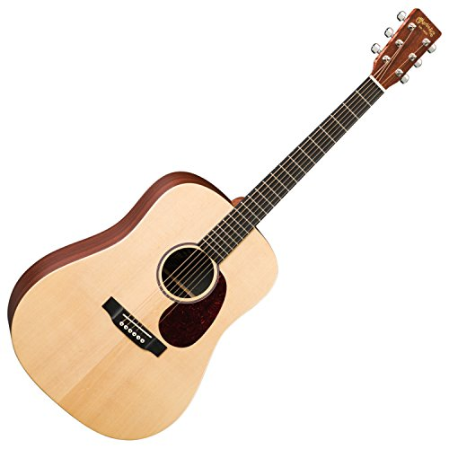 Acoustic Dreadnought Natural - Martin X Series DX1AE Dreadnought Acoustic-Electric Guitar Natural