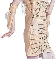 SHANGLY Mujer Disfraz de Halloween Egipto Antiguo Momia Cosplay ...