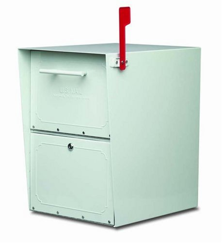 Architectural Mailboxes Oasis Mailbox, Pearl Gray