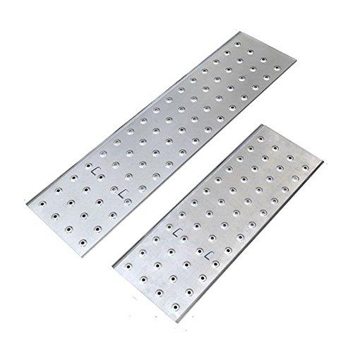 Idealchoiceproduct 15.5' Heavy Duty Gaint Aluminum Multi Purpose Folding Ladder Scaffold Ladders with 2 Platform Plates- 330Lbs by Idealchoiceproduct (Image #6)
