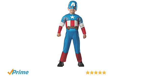 Marvel Captain America Costume For Baby Multi Dress Up Pretend Play Costumes Jumpsuit officially licensed marvel product. monetariza solucoes financeiras empresariais