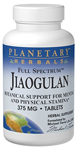 (Planetary Herbals Full Spectrum Jiaogulan Tablets, 60 Count)