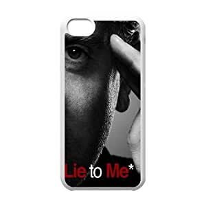 Lie To Me iPhone 5c Cell Phone Case White&Phone Accessory STC_956667