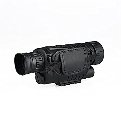 Canis Latran Black Digital Night Vision Monocular Scope 5x for 200Meter Zoom 5X Digital Camera Vedio gz270012