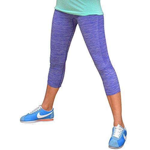 Simplore Women S Tight Cotton Yoga Pants Breathable Capri