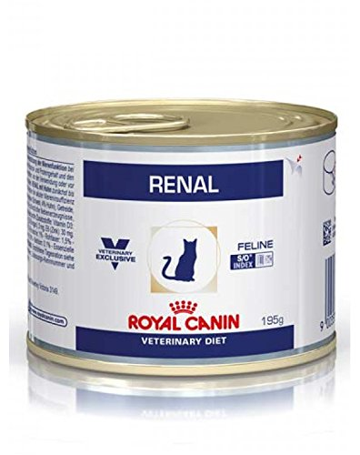Royal Canin Renal Boîte Nourriture pour Chat 195 g 9003579000571