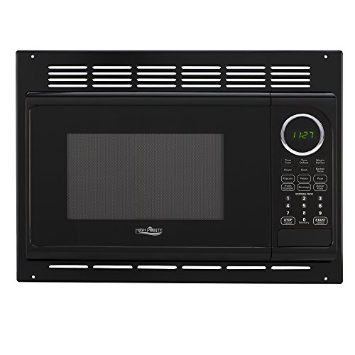 Best Buy! RV Microwave .9 Cubic Ft Black Microwave w/Trim 900 Watt (RPM-1-BLK)