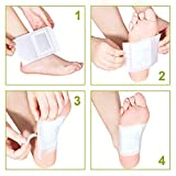 Foot Pads - FDA Natural Foot Care, Relieve Stress & Sleep Better, 50 Adhesive Sheets and 50 Foot Pads