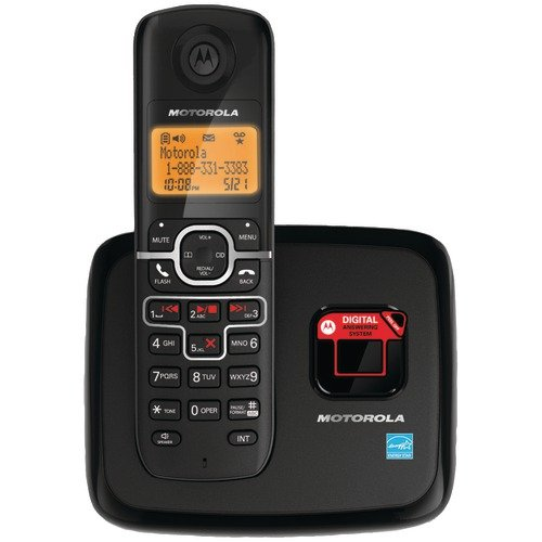 Motorola DECT 6.0 Enhanced Cordless Phone with Digital Answering System L701