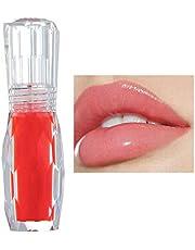 GL-Turelifes Błyszczyk do ust Gloss Jelly Color Lip Plumper błyszczyk do ust – wyraźny błyszczyk do ust – pełniejsze i nawilżone usta, usuwanie zmarszczek na sucho