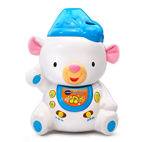 [VTech Baby Sleepy Lullabies Bear Projector] (Baby Blocks Musical Mobile)