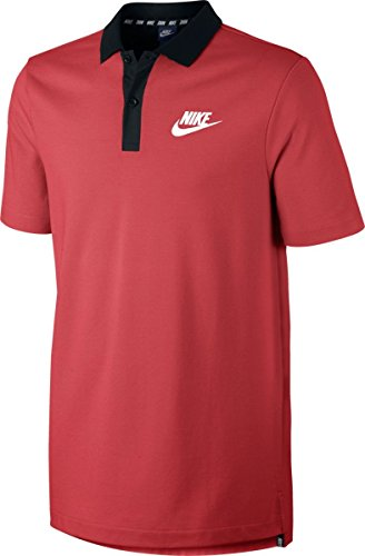 Nike Sportswear Advance 15 Polo Track Red/Black/White Men