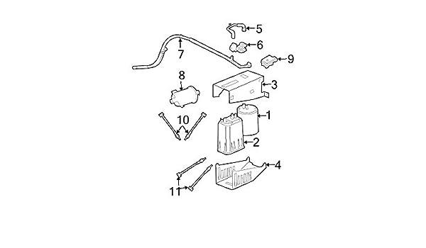Fuel Vapor Leak Detection Pump Hose Mopar 52102793AA