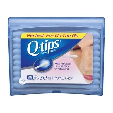 Q-tips Swabs Purse Pack 30 Each (Pack of 36) by Q-Tips (Image #1)
