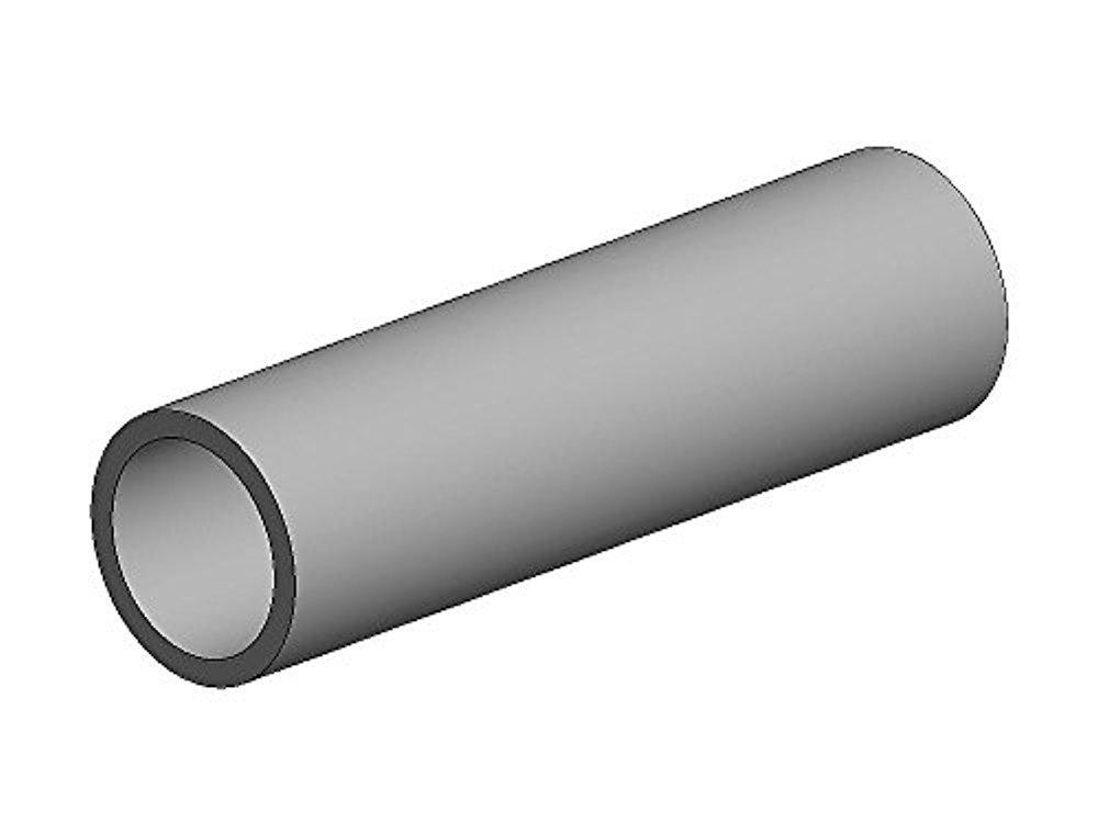 Aluminium round tube-ø 16 x 12 mm-metal construction
