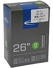 """Schwalbe Fietsbinnenband AV12 32/47-559/597 EK AGV 40 mm, zwart, 26 x 1 1/8-1,75"""" AV40 mm"""