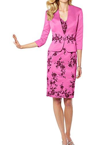 Ivydressing - Vestido - Estuche - para mujer rosa 42