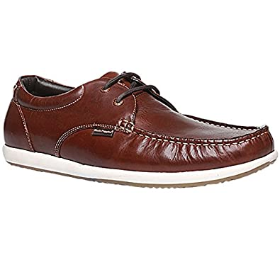 4fdf4364c7c38 Hush Puppies Men's Brad Lace Up Leather Formal Shoes: Buy Online at Low  Prices in India - Amazon.in
