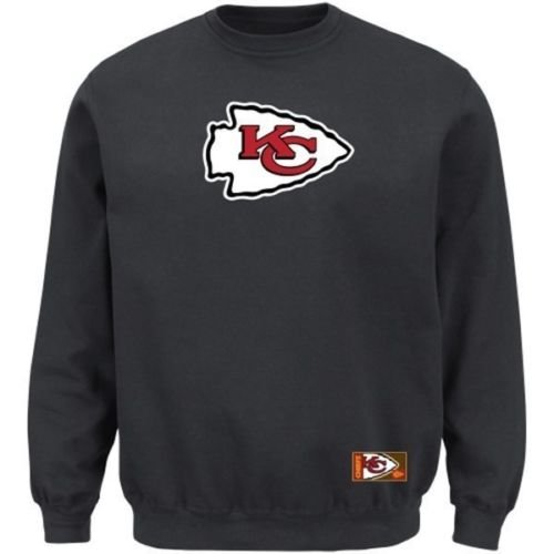 G-III Sports Kansas City Chiefs NFL Majestic Classic KDF Men's Sweatshirt Big & Tall Sizes (5XL)