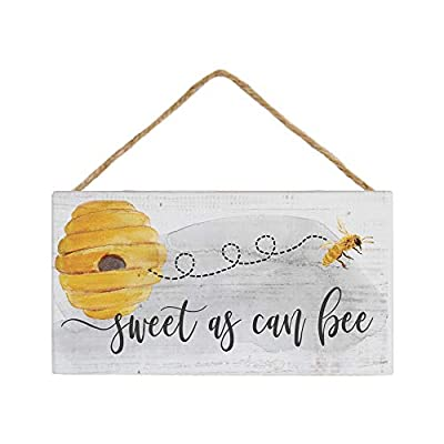 "Simply Said, INC Petite Hanging Accents 3.5""x6.5"" Wood Sign PHA1093 - Sweet as Can Be - UNIQUE: Each sign is cut from real cedar wood and accents the wood's natural grain. This means that each sign is one of a kind! BUILT TO LAST: Cedar wood construction is durable and meant to last. EASY TO DISPLAY: Twine is securely staped to back of sign for easy hanging! - living-room-decor, living-room, home-decor - 41fN62TvwAL. SS400  -"